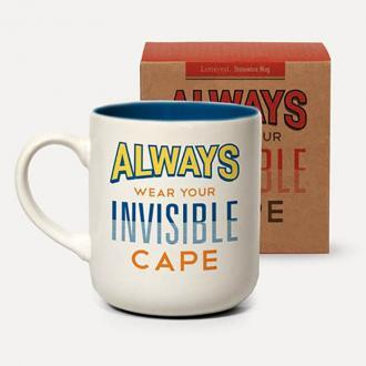 invisible cape mug