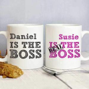 Real Boss Personalised Mugs