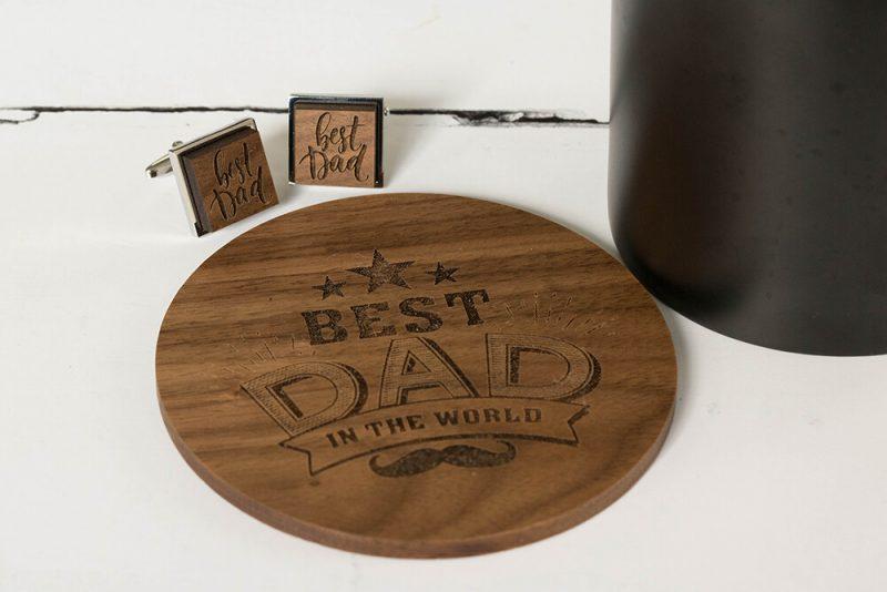 best dad coaster and cufflinks 1