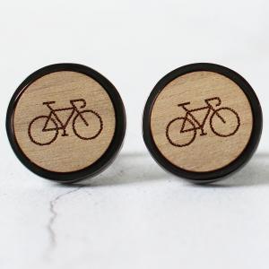 road bike cycling cufflinks