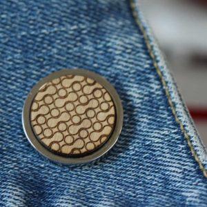 geometric design pin