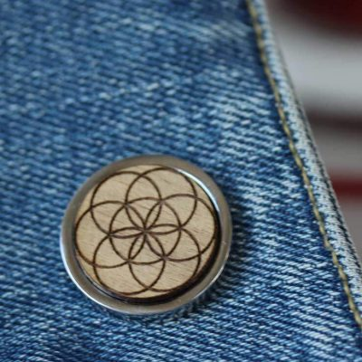 seed of life pin badge
