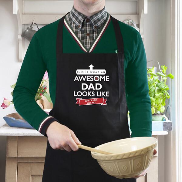 awesome dude apron