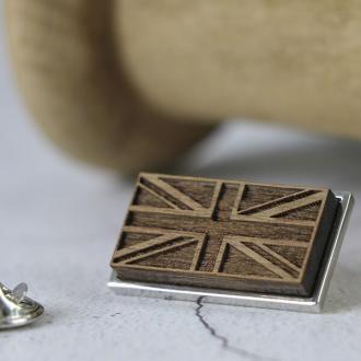 GB lapel pin badge