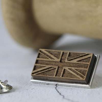 GB lapel pin badge