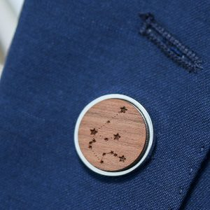 Celestial Constellation Lapel Pin Badge