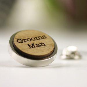 wedding party lapel pin badge