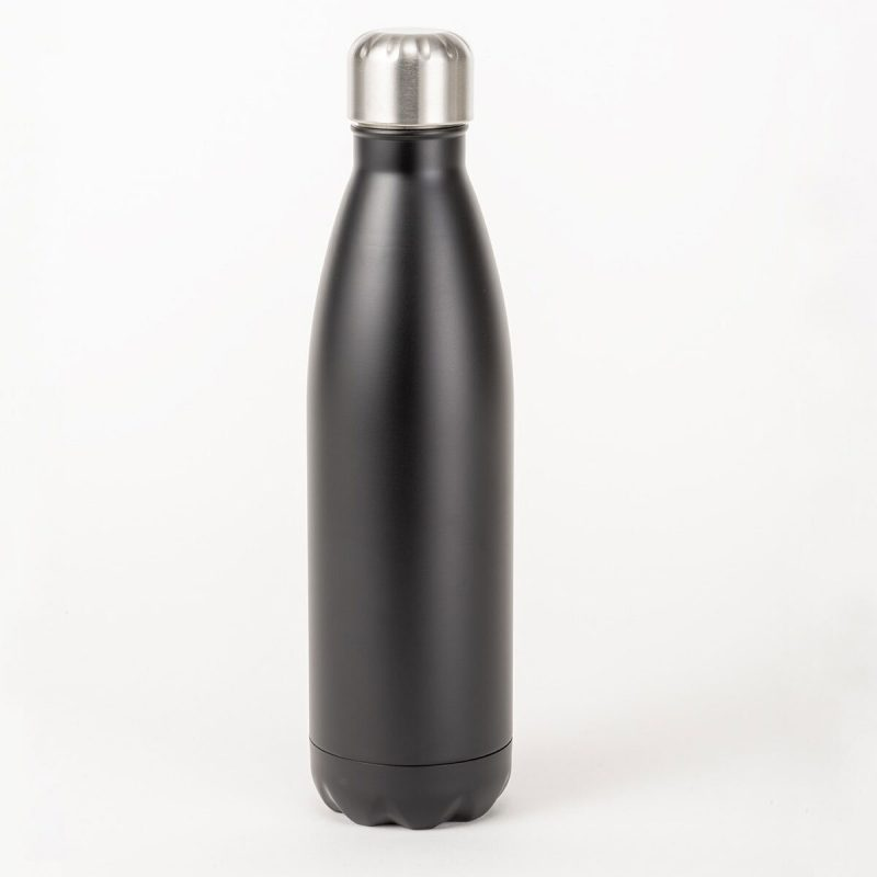 black insulated bottle