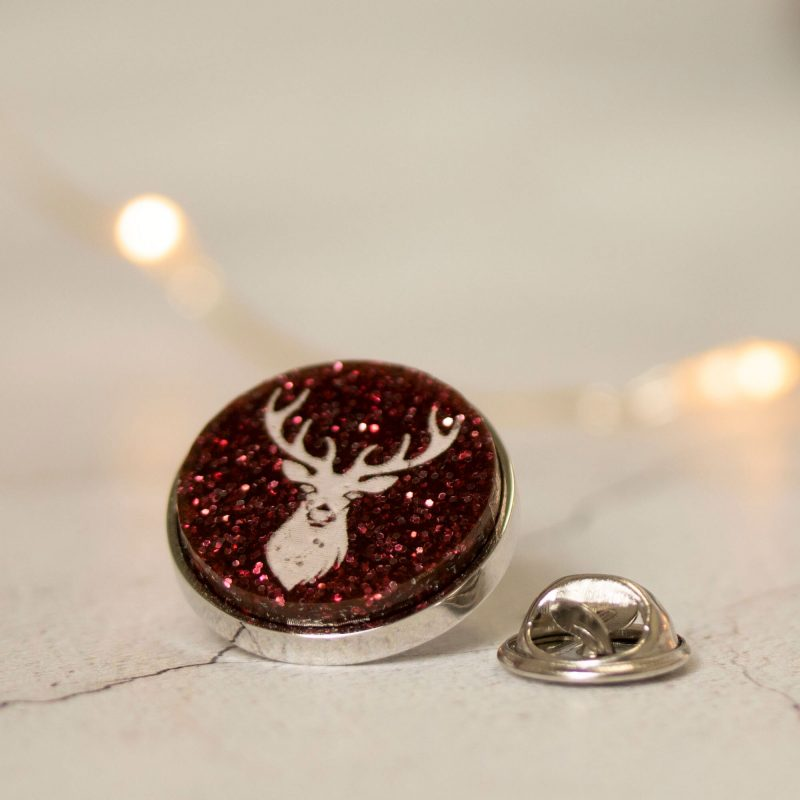 xmas red stag