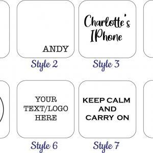 personalised charger design styles