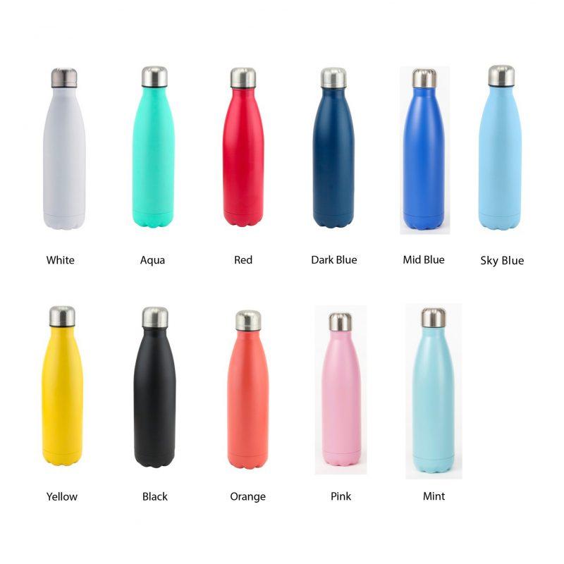 bottle colors
