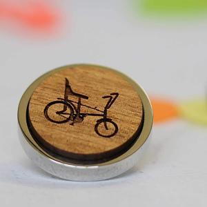 raleigh chopper retro pin badge