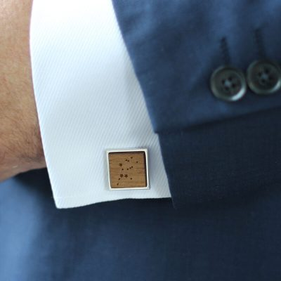 square constellation cufflinks
