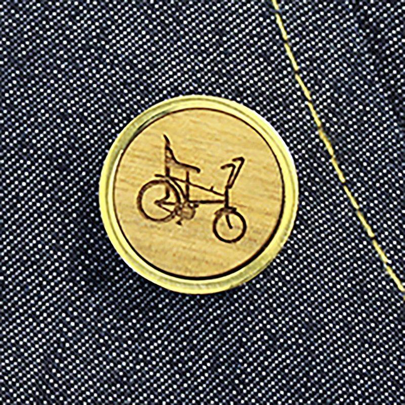 retro raleigh chopper pin badge