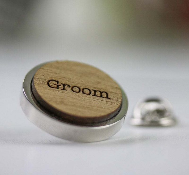 wedding party pins